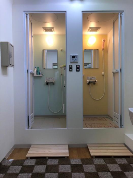 シャワールーム設置