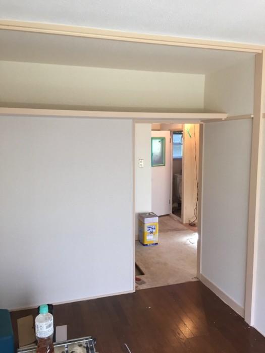 内装塗装 施工後